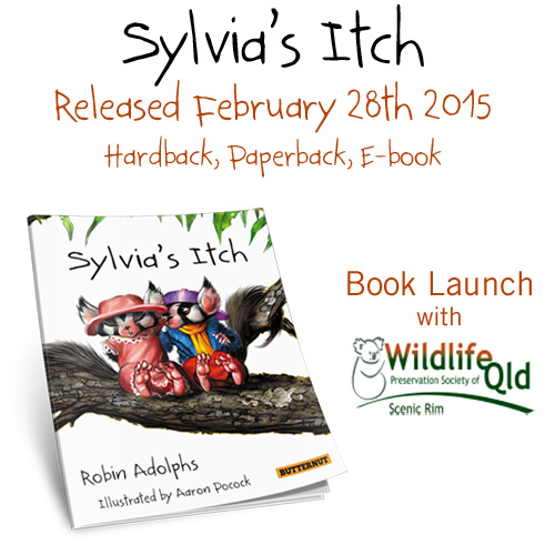 New Book: Sylvia's Itch and Other Updates